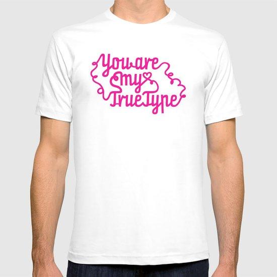 True Type. T-shirt