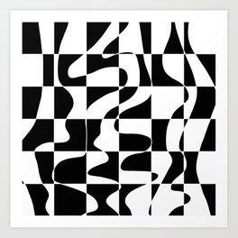 It's Not Always So Black And White Art Print