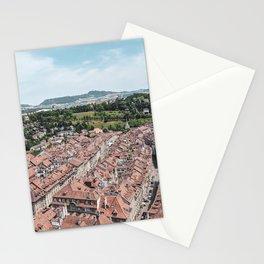Old City Bern, Switzerland #1 Stationery Cards