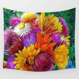 Fall Bouquet for Peace by Mandy Ramsey Wall Tapestry