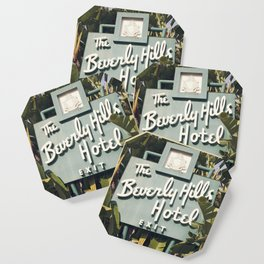 Beverly Hills Hotel Coaster