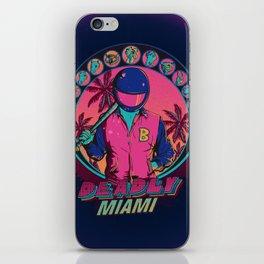 Deadly Miami iPhone Skin