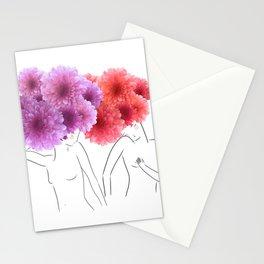 La féminité Stationery Cards