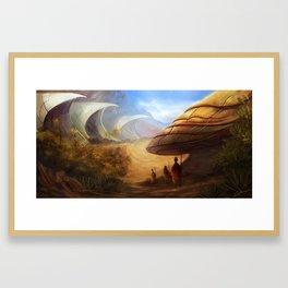 Desert Shells Framed Art Print