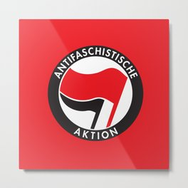 Antifaschistische Aktion Metal Print