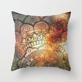 Galactic Mark Throw Pillow