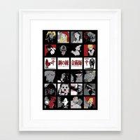 fullmetal Framed Art Prints featuring FMA by Lindsay6Link