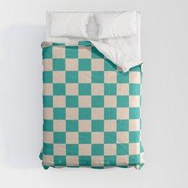 Checkerboard pattern Comforters