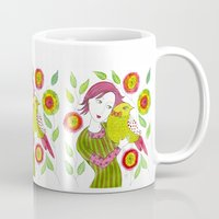 friendship Mugs featuring Friendship by Jessie Lilac