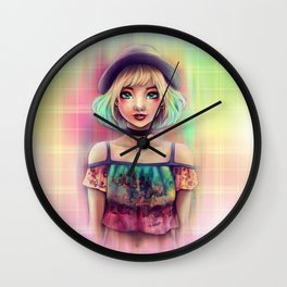 Emily Glam Rock Wall Clock