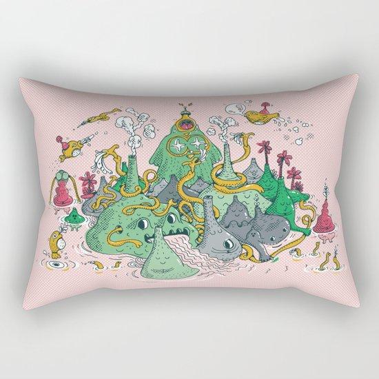 The Owl Land Rectangular Pillow