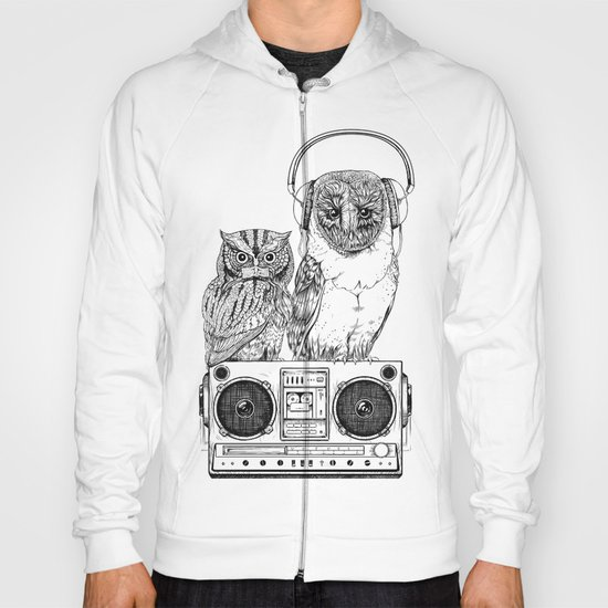 Silent Night ANALOG zine Hoody