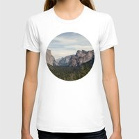 yosemite T-shirts featuring Yosemite Valley by Laura Ruth