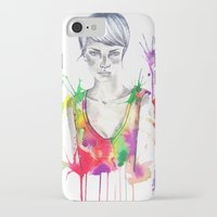 acid iPhone & iPod Cases featuring acid by Lua Fraga