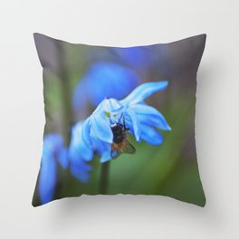 Feasting on Beauty Throw Pillow