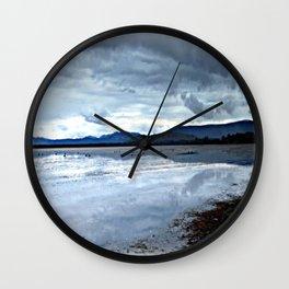 Shallow Lake Wall Clock
