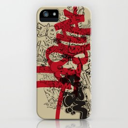 Lust iPhone Case