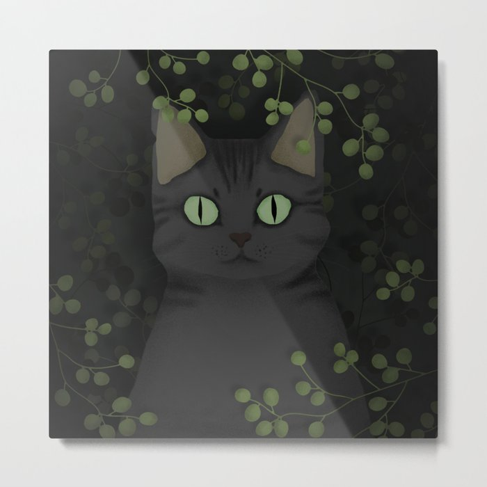 A warrior cat Metal Print