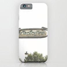 Metropolitain Sign iPhone 6s Slim Case