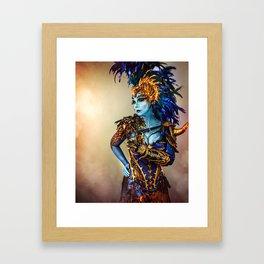 Mother of Dragons Framed Art Print