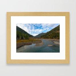 Lake Cushman WA Framed Art Print
