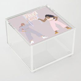 the gentle reminder Acrylic Box