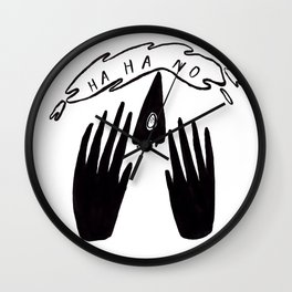 ha ha no Wall Clock
