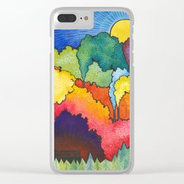 Crayon Factories Clear iPhone Case