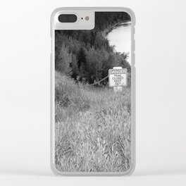StAY oUt Clear iPhone Case