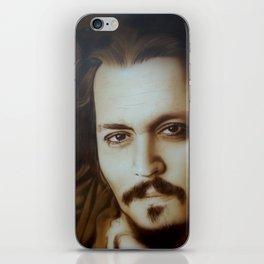 'Depp II' iPhone Skin