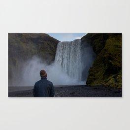 That Damn Waterfall Canvas Print