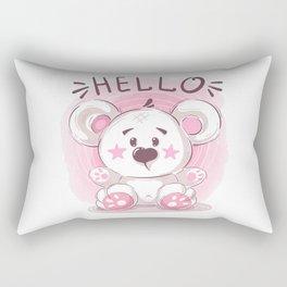 Cutiest Teddy Bear Rectangular Pillow