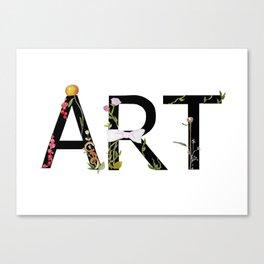 ART Canvas Print