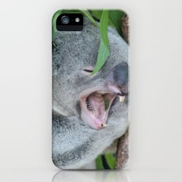 Is it time for a nap? iPhone Case