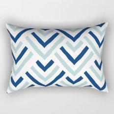 Barbados blue Rectangular Pillow