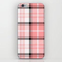 Pink Tartan iPhone Skin