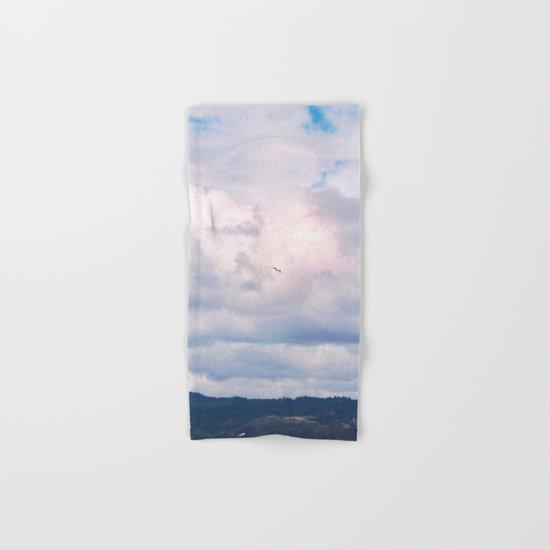 Pastel vibes 41 - El vuelo Hand & Bath Towel