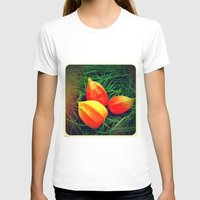 lanterns T-shirts featuring Lovely Lanterns  by Julia Kovtunyak