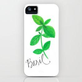 Basil Garden Art iPhone Case