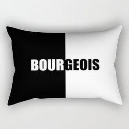 BOURGEOIS, Inspiration Shirt, Louise Bourgeois, Bourgeois Shirt, Feminist Shirt, Vintage Feminist Sh Rectangular Pillow