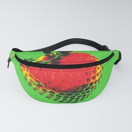 Strawberry Green - Posterized Fanny Pack