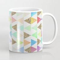 girly Mugs featuring Girly Things by Zeke Tucker