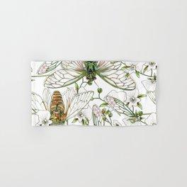 Cicadas and Orchids Hand & Bath Towel