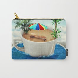 summer holiday cup Carry-All Pouch