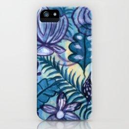Tropical Flora iPhone Case