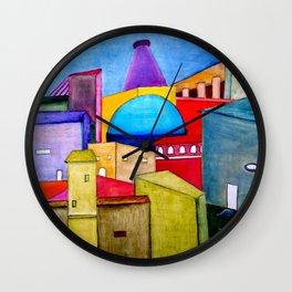 La Ciudad Alegre Wall Clock