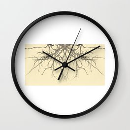 branches#04 Wall Clock