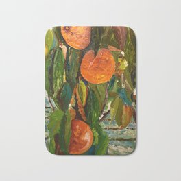 Jimmy and the Giant Peach Tree Bath Mat