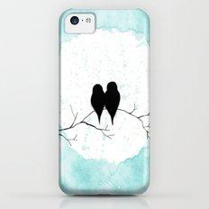 Lovebirds iPhone 5c Slim Case