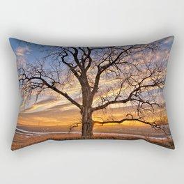 Winter Cottonwood Rectangular Pillow